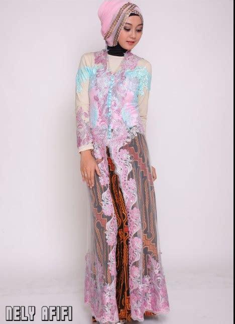 model baju kebaya modern muslimah populer  kebaya