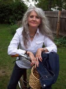 Long-Layered Gray Hair