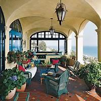 interesting mediterranean patio decor ideas Mediterranean Style Kitchen - Outdoor Kitchen Decorating ...