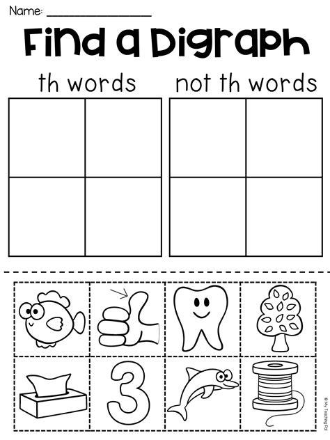 th worksheet packet digraphs worksheets digraphs