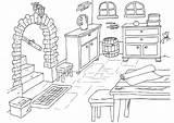 Coloring Basement Keller Malvorlage Cave Coloriage Para Dibujo Colorear Pages Dessin Maison Sotano Edupics Zum Printable Grosse Abbildung Herunterladen sketch template