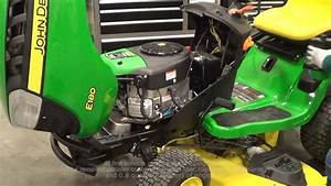 How To Change The John Deere Easy Change Oil System