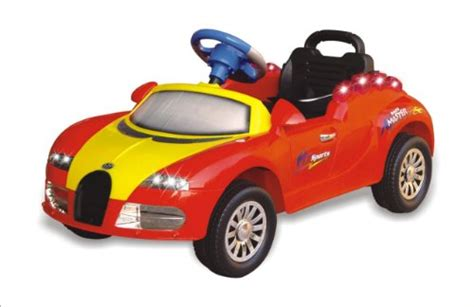 Attractive Deal Ride On Power Bugatti Radio Remote Control