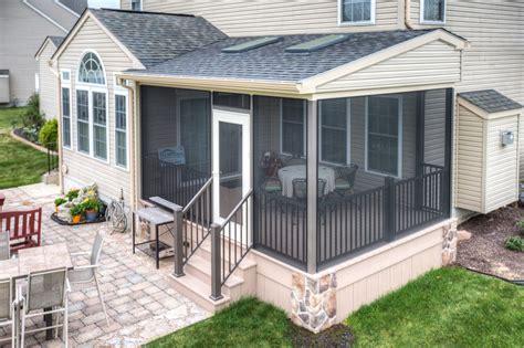 porch deck designs screened porch project in gettysburg pa stump s decks porches