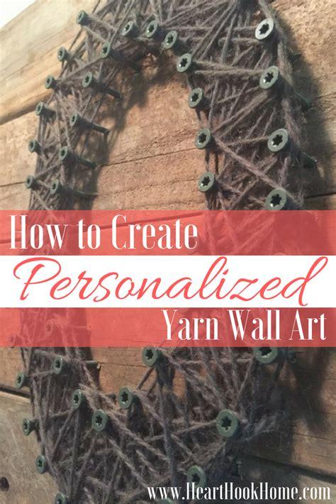 create yarn art   pallet  fence board