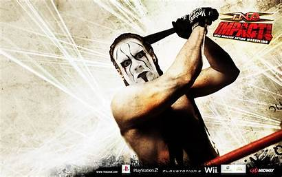 Sting Wrestler Wcw Tna Impact Background