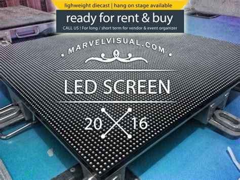 marvel visual sewa led screen videotron surabaya sewa
