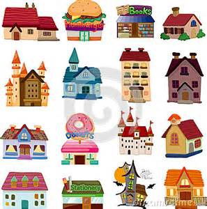 Cartoon Community House