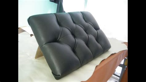 How To Do Tufting Upholstery by Tufting Designs Leather Upholstery