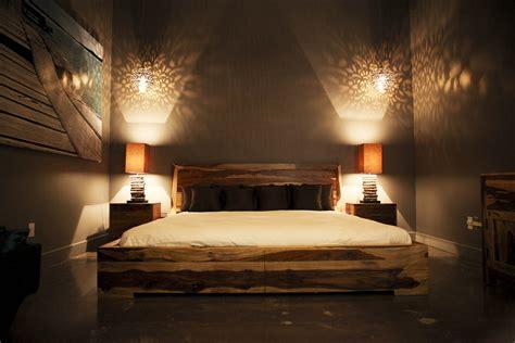 zen  contemporary bedroom featuring  romy bed