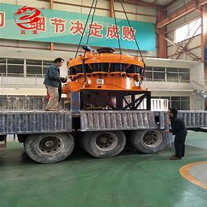 Used Mobile Manual Stone Pyb900 Cone Crusher
