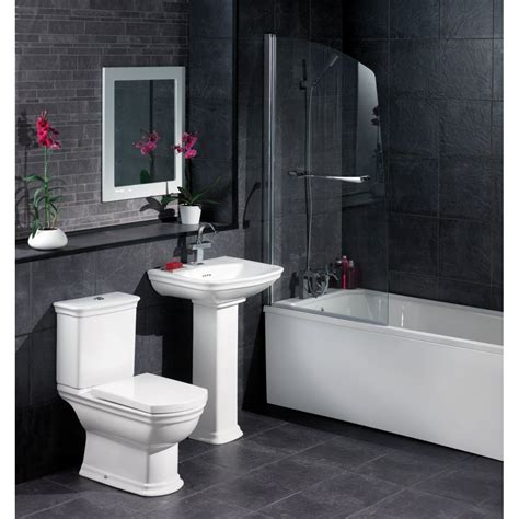 black bathrooms ideas black and white bathroom design inspirational black tile