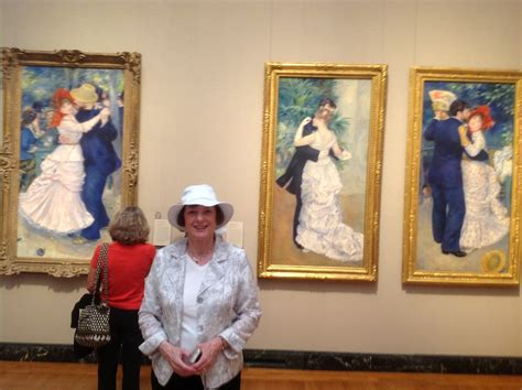 Mary Voilà Cest Moi Dancing With Renoir At The Mfa