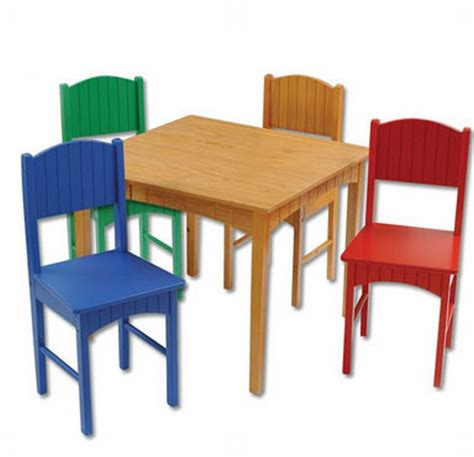 kidkraft nantucket table kidkraft nantucket table 4 primary chairs 2096