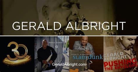 Gerald Albright's Photo Gallery