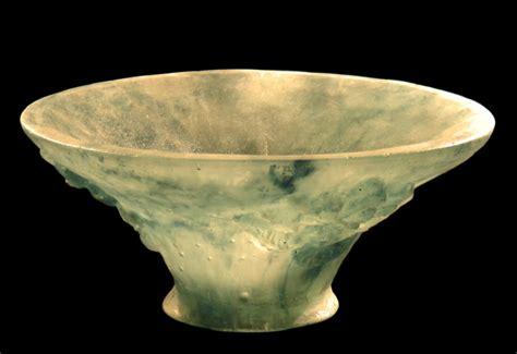 magd abdel rahman artwork pate de verre sculptured bowl original sculpture glass abstract