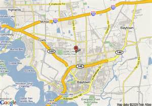 Baytown Texas Map