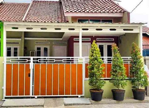 pagar rumah minimalis type  berbagai model desain