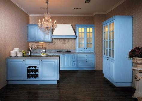 light blue kitchen ideas cuisine bleu 50 suggestions de d 233 coration 6963