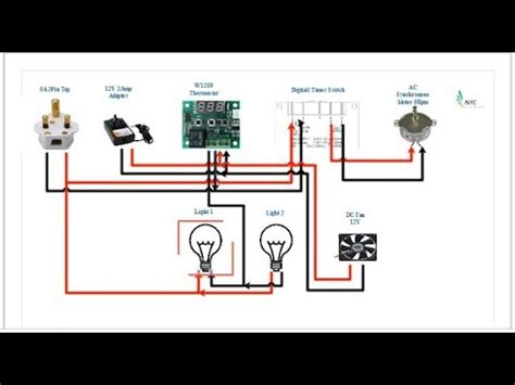 Homemade Automatic Incubator Circuit Diagram For Tamil