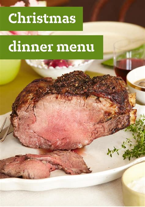 A menu for a prime rib holiday dinner roast dinner menu, prime rib dinner, holiday dinner menu these pictures of this page are about:prime rib 21 of the best ideas for prime rib dinner menu christmas. Christmas Dinner Menu — Is Christmas dinner at your house ...