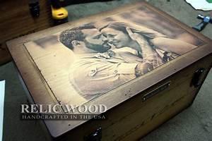 Custom Wedding Keepsake Box