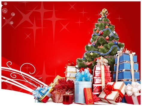 merry christmas powerpoint template   templates