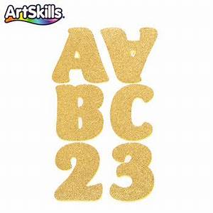 gold glitter number stickers custom sticker With gold glitter letters hobby lobby