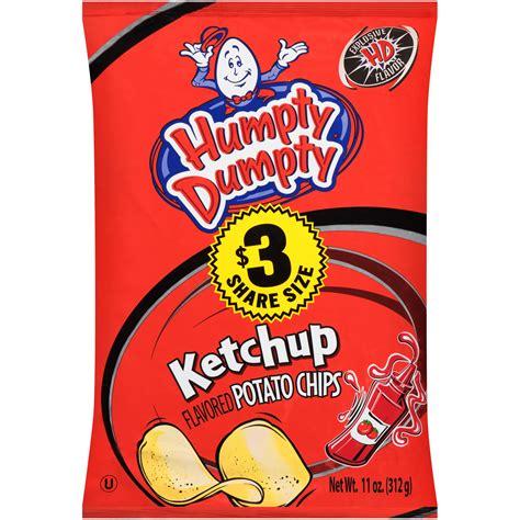 Humpty Dumpty Ketchup Flavored Potato Chips 11 oz. Bag ...