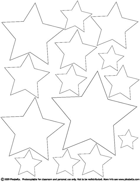 coloring pages  stars az coloring pages