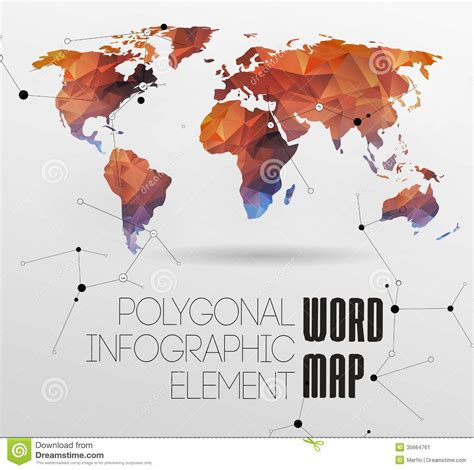 world map and typography stock image image 35664761