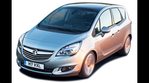 vauxhall meriva   open boot   youtube