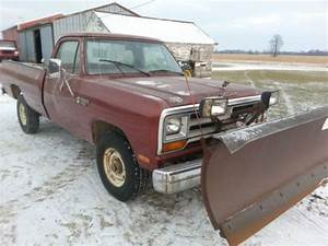 1986 Dodge 1500 Pickup Wiring  1986 Ramcharger Alternator Wirig  Have A Faulty Fuel Gauge On