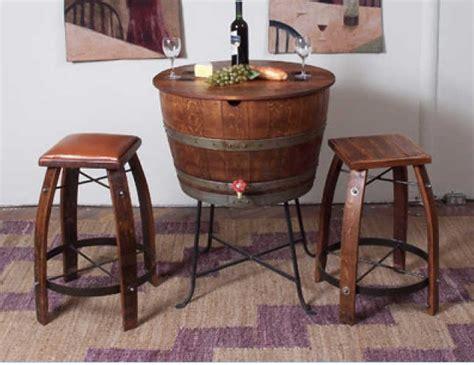 31731 oak barrel furniture furniture made of wine barrels it quot half barrel