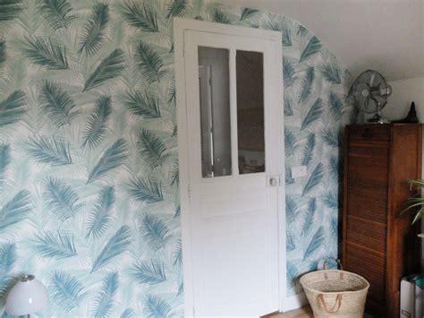 du papier peint dans ma chambre d amis madame d 233