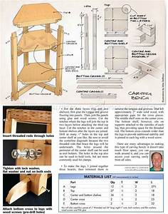 Wood Carving Bench Plans • WoodArchivist