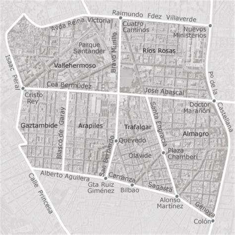 mapa de chamberi madrid idealista