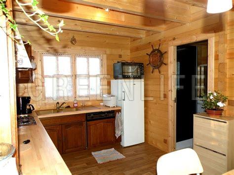 coté maison cuisine chalet bois mareva 96 maison bois greenlife