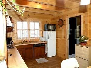 Chalet En Bois Habitable 20m2 : chalet bois mareva 96 maison bois greenlife ~ Dailycaller-alerts.com Idées de Décoration