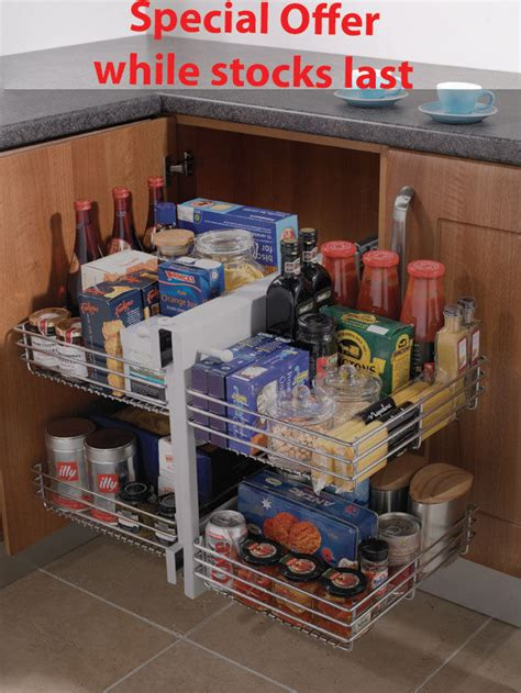 corner storage units for kitchens blind corner optimiser magic corner storage for 800mm 8372