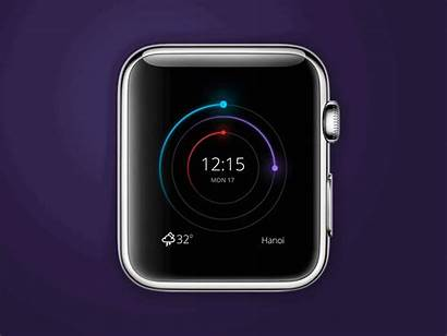 Apple Theme Clock Concept Dribbble Wife Watches