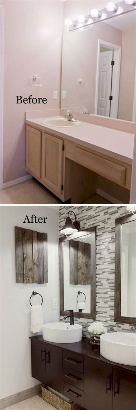 cheap bathroom remodel ideas  pinterest diy