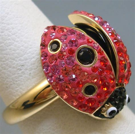 swarovski red ring 24 off swarovski jewelry tradesy