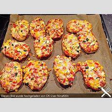 Superschnelle Pizzabrötchen  Pizzabrötchen, Essen Und
