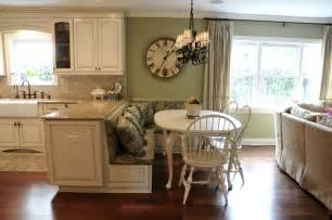 Kitchen Island with Booth Seating