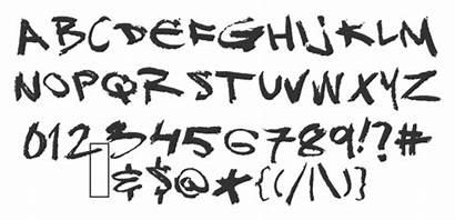 Font Graffiti Fonts Cool Wildstyle Transparent Letters