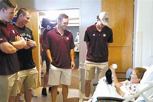 Aggies take a break from CWS to brighten young hospital ...