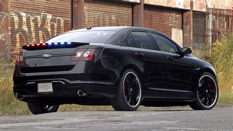 future ford taurus 2010 sema preview stealth ford taurus police interceptor