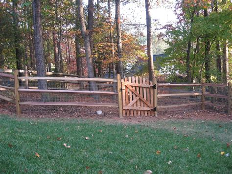 Fence - Gate : How To Build Split Rail Fence Gate