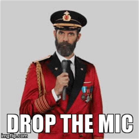 Mic Drop Meme - drop the mic captain obvious imgflip